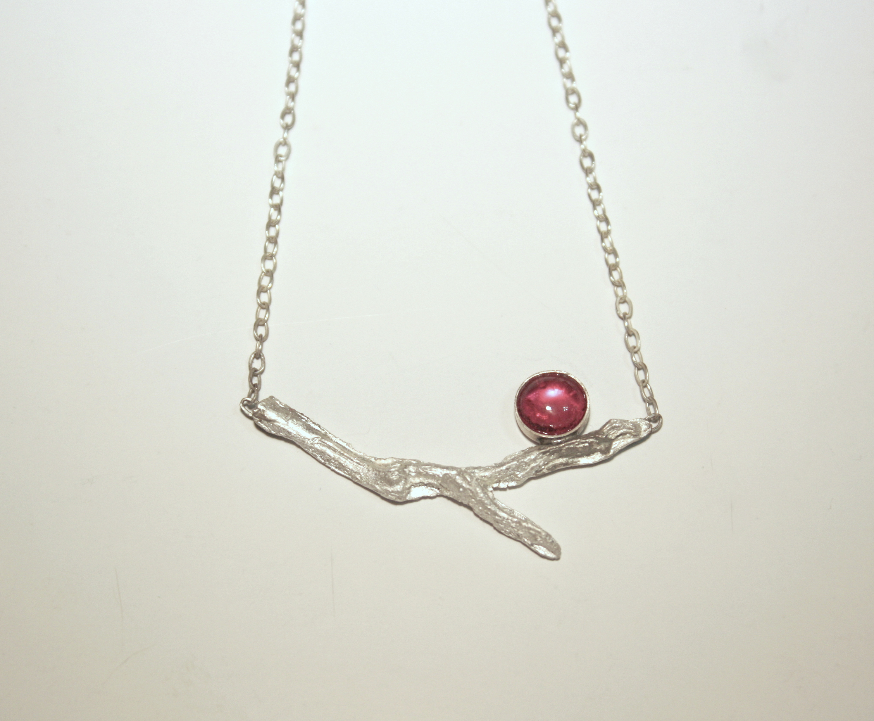 Ruby Twig Necklace